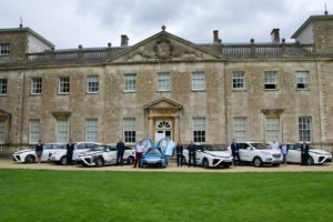Hydrogen cars at Lydiard House