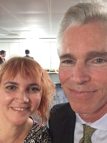 Louisa Davison (CCL UK) and Ted Halstead