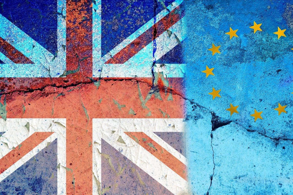 UK & EU flags