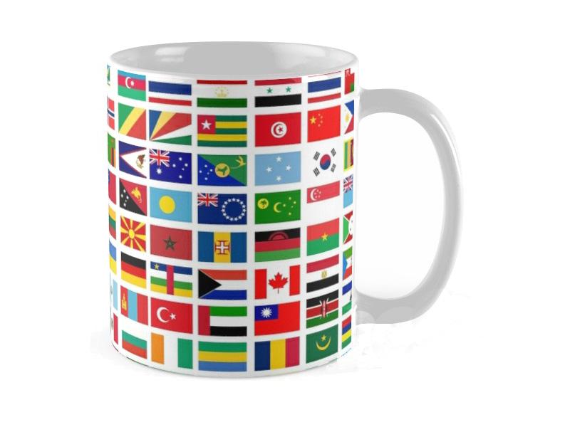 flag mug small