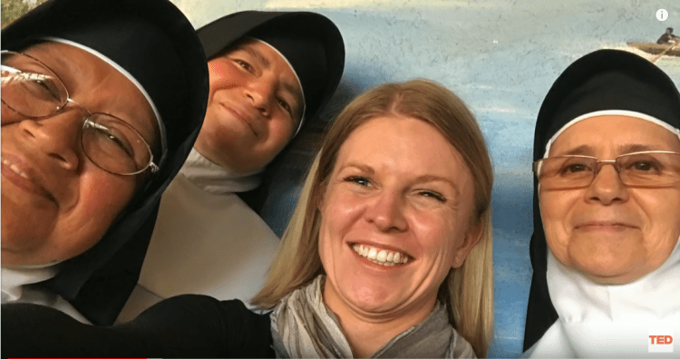Victoria with the Sisters of the Immaculate Health