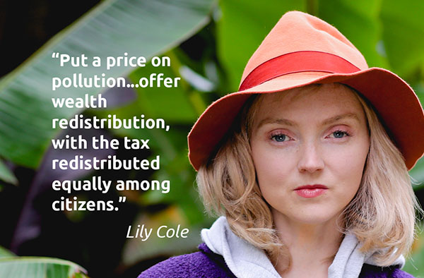 Lily Cole CF&D quote